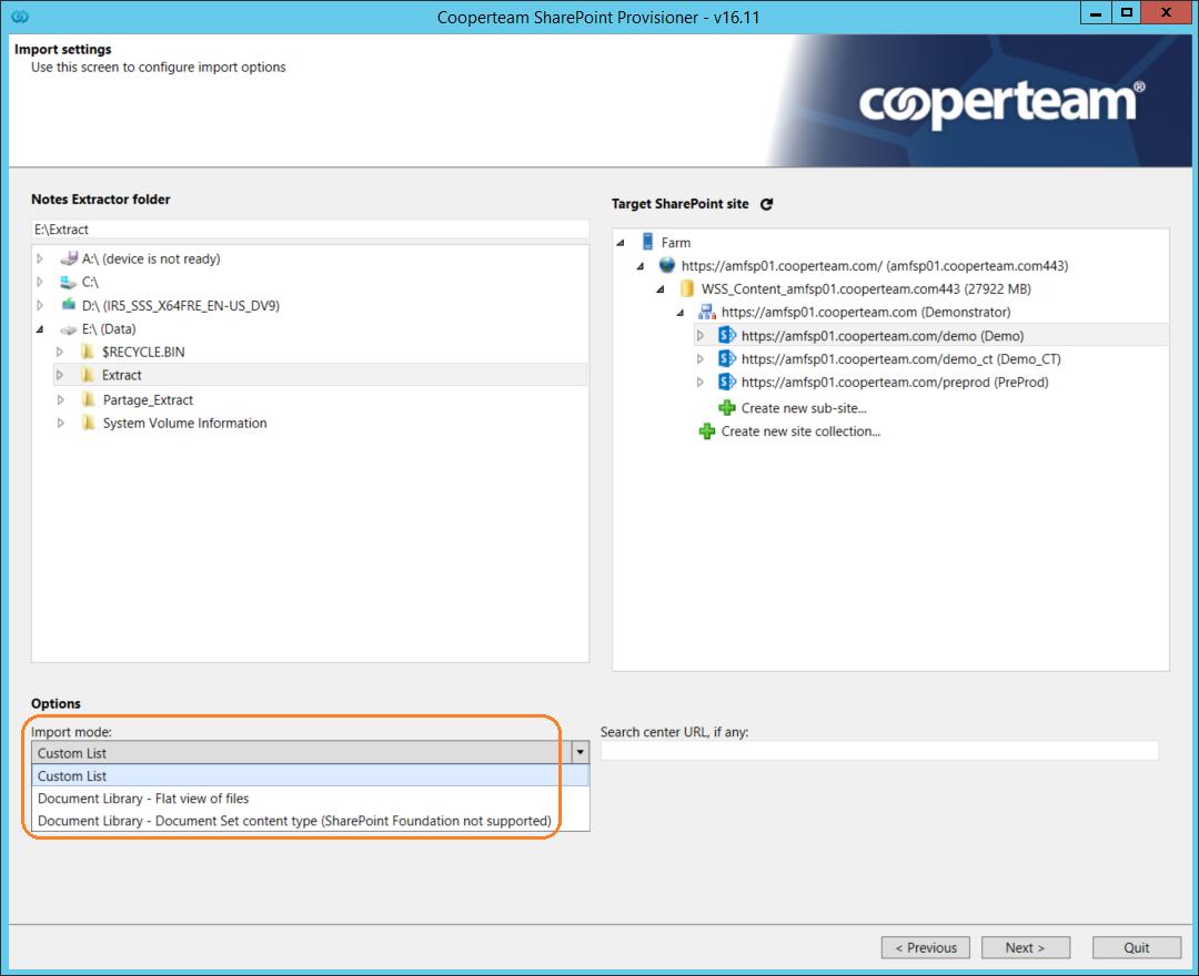 SharePoint Provisioner | COOPERTEAM